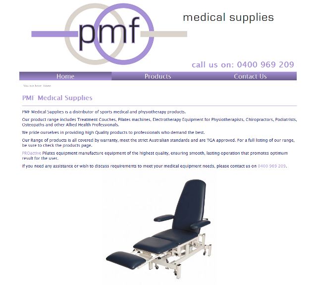 PMF Medical Supplies